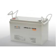 Аккумуляторная батарея LogicPower LPM-GL 120Ah-12V