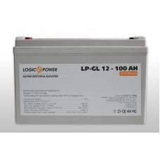 Аккумуляторная батарея LogicPower LP-GL 100Ah-12V