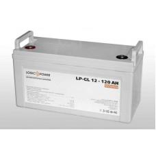 Аккумуляторная батарея LogicPower LP-GL 120Ah-12V