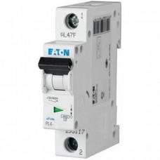 Автоматический выключатель однополюсный Moeller/Eaton PL4 B