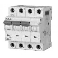 Автоматический выключатель трехполюсный N Moeller/Eaton PL6 B