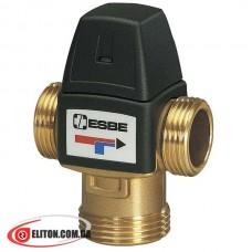 """Термостатический трехходовой смесительный клапан ESBE VTA322 1"""" 20-43 °C"""