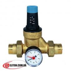 Редуктор давления воды WATTS DRVMN20 1,5-6 Бар с манометром
