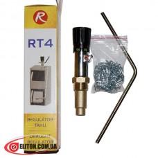 Механический регулятор тяги для твердотопливного котла REGULUS RT4